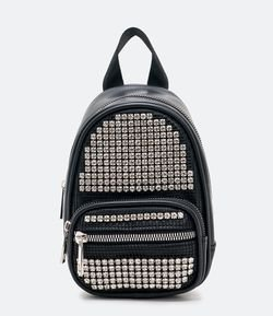 Mochila Mini Bag con Strass