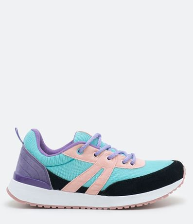 Tênis Feminino Jogging Multicolor Satinato