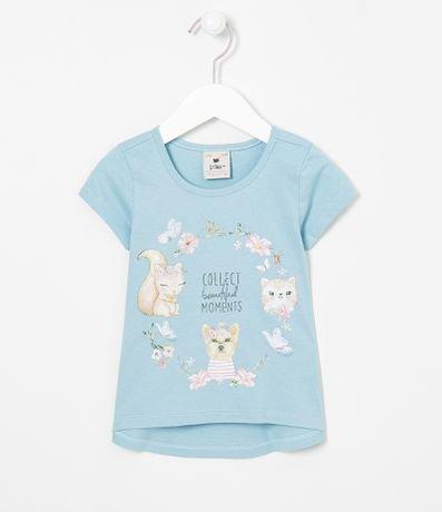 Blusa Infantil Estampada - Tam 1 a 5 anos