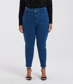 Calça Jeans Mom Clochard Curve & Plus Size