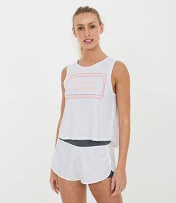 Musculosa Deportiva  Estampa Move The Body Still The Mind