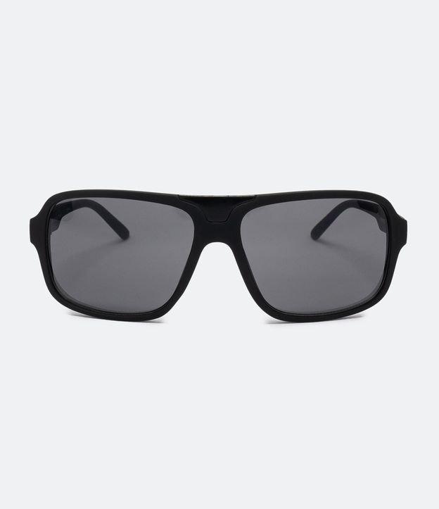 Oculos de Sol Masculino Quadrado em Policarbonato | Accessories | Preto | U