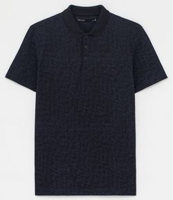 Camisa Polo Estampa Dashes