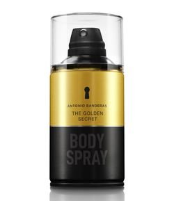 Body Spray Antonio Banderas The Golden Secret