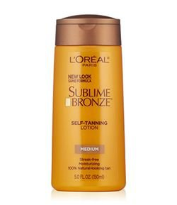 Loción Bronceadora Medium Natural Tan Sublime Bronze Loreal Paris
