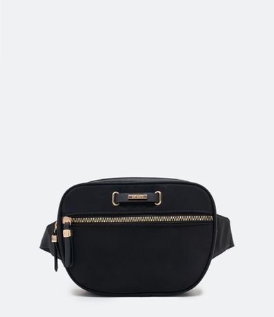 Pochete Camera Bag com Bolso Frontal