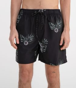 Short con Estampa Floral