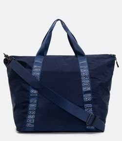 Bolsa Esportiva Grande Estampa Passion Is Energy
