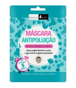 Máscara Facial Antipoluição Beauty 4 Fun