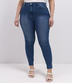 Calça Jeans Skinny Push Up Curve & Plus Size