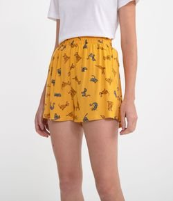 Short Estampado Simpsons