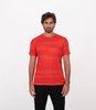 Camiseta Esportiva Estampada com Detalhe Neon no Braço