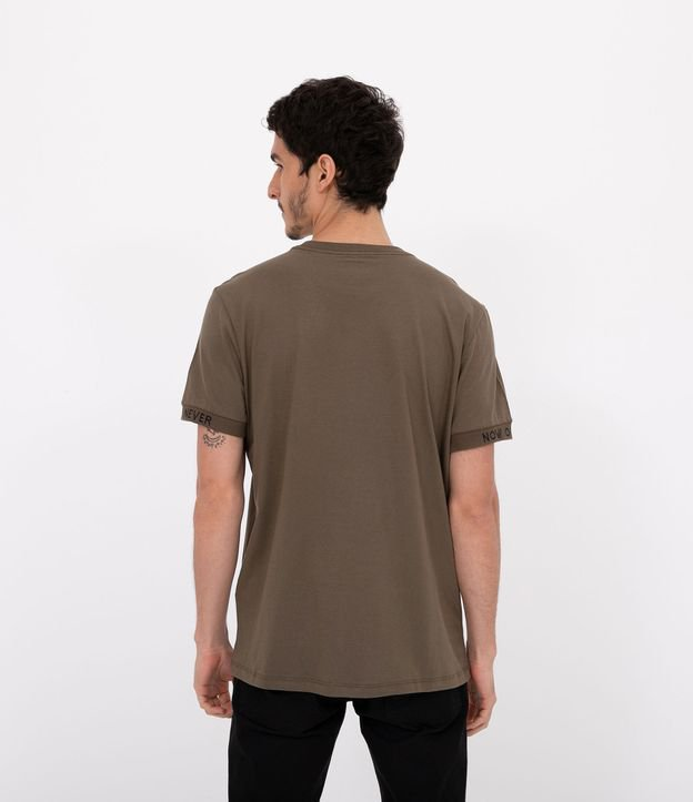 Camiseta Lisa Estampa Authenticity | Blue Steel | Verde | GG