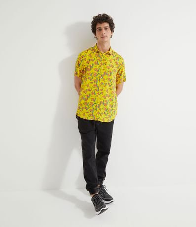 Camisa Manga Curta Estampa MTV