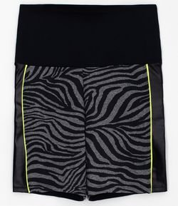 Bermuda Esportiva Estampa Animal Print