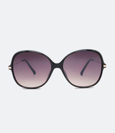 Óculos de Sol Feminino com Detalhe nas Hastes