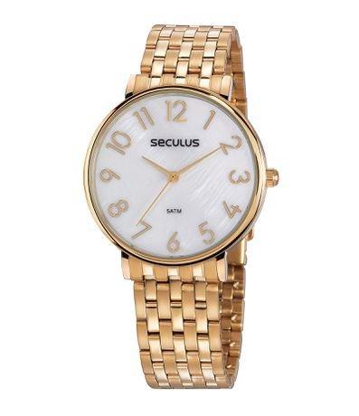 Relógio Feminino Seculus 77050LPSVDS1 Analógico 5ATM