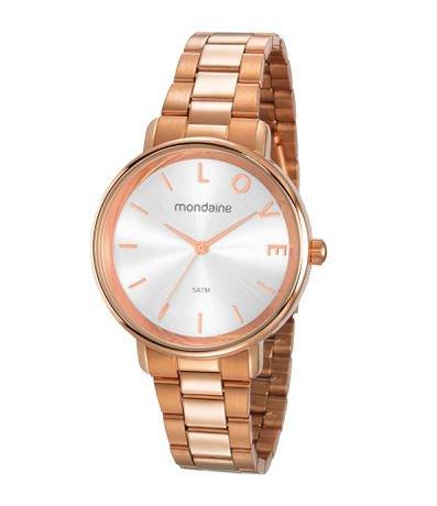 Kit Relógio Feminino Mondaine 53761LPMKRE2K1 Analógico 5ATM + Brinde