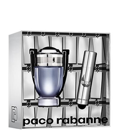 Kit Perfume Paco Rabanne Invictus Masculino Eau de Toilette + Travel Spray