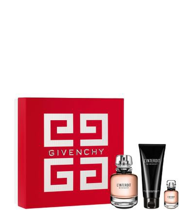 Kit Perfume Givenchy L'interdit Feminino Eau de Parfum + Loção Corporal + Miniatura