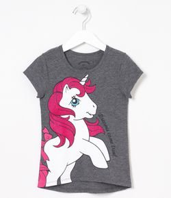 Blusa Infantil Estampa My Little Pony - Tam 6 a 14 anos