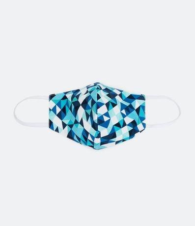 Máscara de Tecido Feminina Estampa Geométrico
