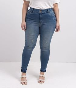 Calça Skinny Jeans Push Up Lisa Curve & Plus Size