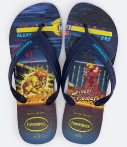 Chinelo Masculino Estampa Street Fighter Havaianas