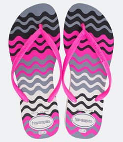 Chinelo Feminino Estampa Colorida Havaianas