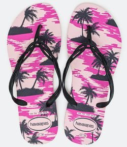 Chinelo Feminino Estampa Tropical Havaianas