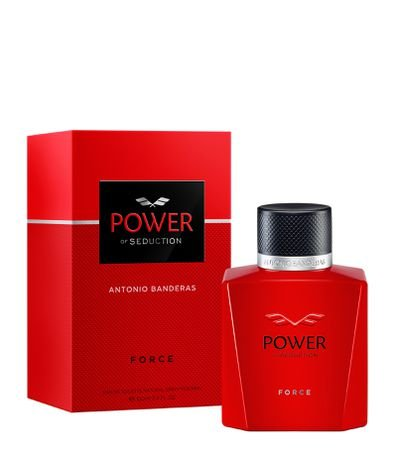 Perfume Antonio Banderas Power of Seduction Force Masculino Eau de Toilette