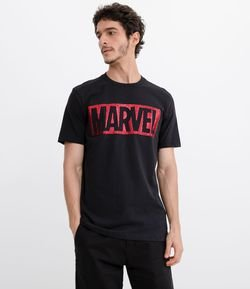 Camiseta com Estampa Marvel