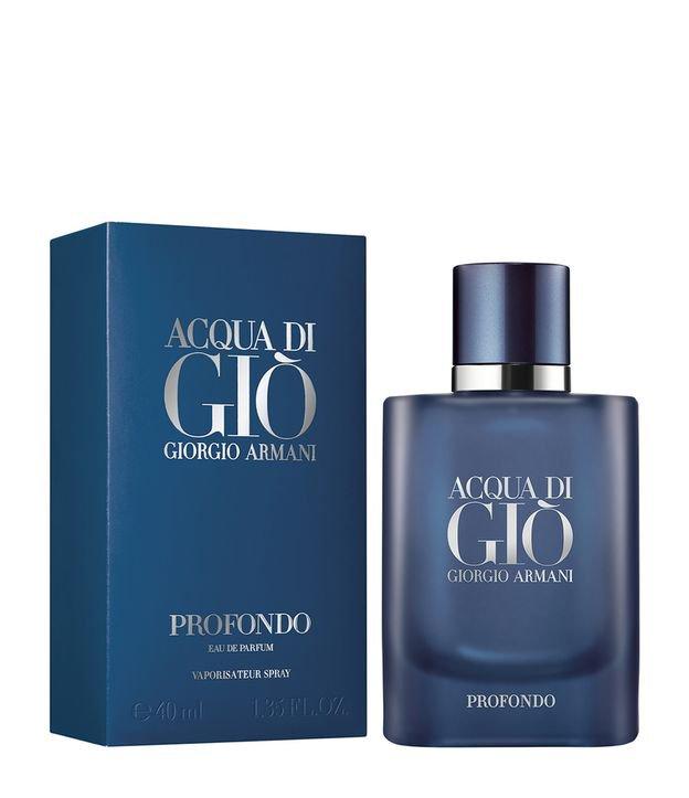 Perfume Acqua di Giò Profondo - Giorgio Armani - Eau de Parfum Giorgio Armani Masculino Eau de Parfum