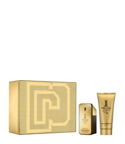 Kit Perfume Paco Rabanne One Million Masculino Eau de Toilette + Gel de Banho