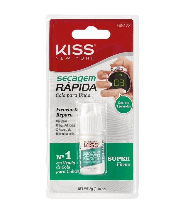 Cola de Unhas Postiças Kiss Secagem Rápida | Kiss | Incolor | 3g