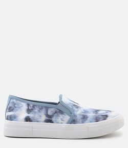 Tênis Slip On Tie Dye Satinato