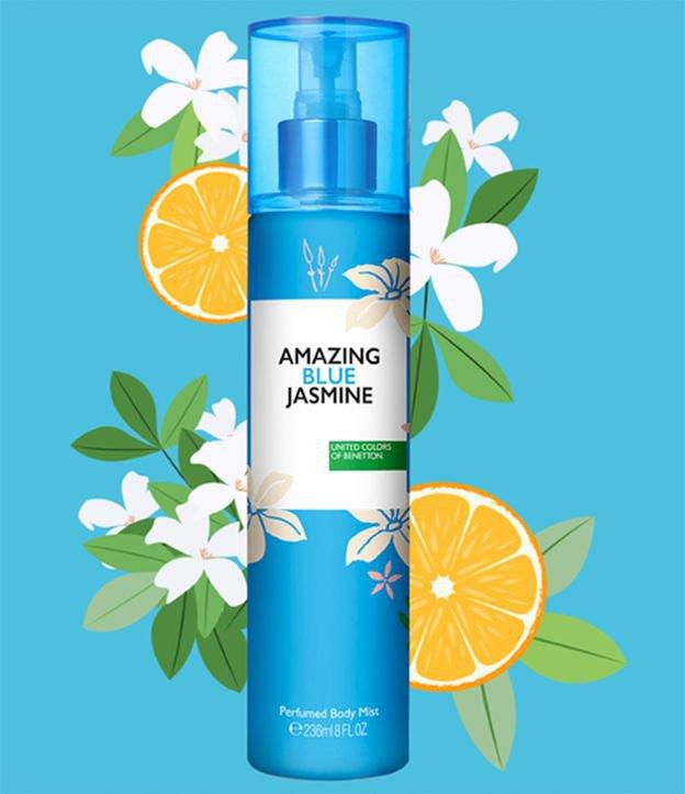 Body Mist Benetton Amazing Blue Jasmine Feminino | Benetton | 236ML