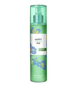 Body Mist Benetton Happy Green Iris Feminino