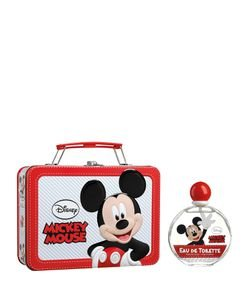 Kit Perfume Disney Mickey Eau de Toilette + Carpeta en Metal