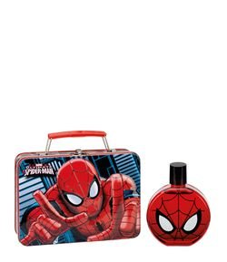 Kit Perfume Disney Spiderman Eau de Toilette + Carpeta en Metal