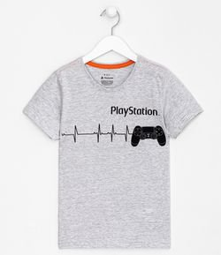 Remera Estampa Playstation - Tam 5 a 14 años