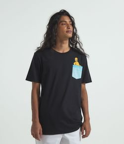 Camiseta com Estampa Homer Simpson