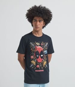 Camiseta com Estampa DeadPool