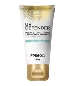 Protetor Solar Facial Antioleosidade UV Defender FPS 60 Loréal Paris