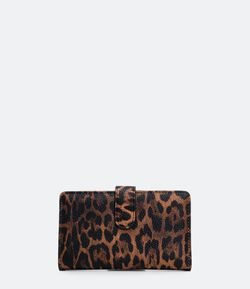 Carteira Estampa Animal Print