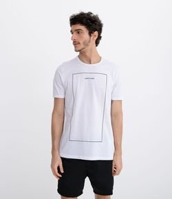 Camiseta con Estampa Untitled