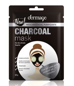 Máscara Facial Charcoal Dermage