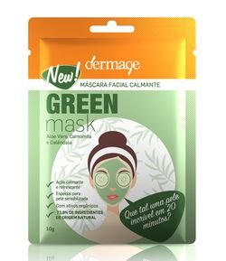 Máscara Facial Green Dermage