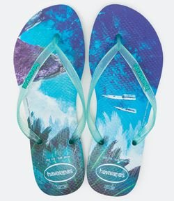 Chinelo Feminino Slim Tropical Havaianas