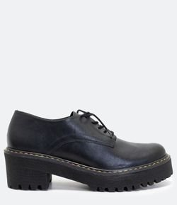 Zapatos Modelo Oxford Satinato